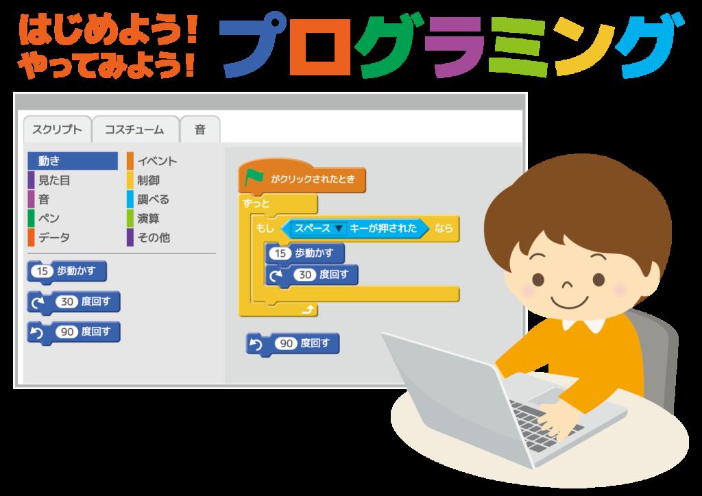 2020年小学校プログラミング教育必修化