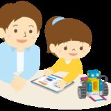 プログラミング教室 女の子と先生