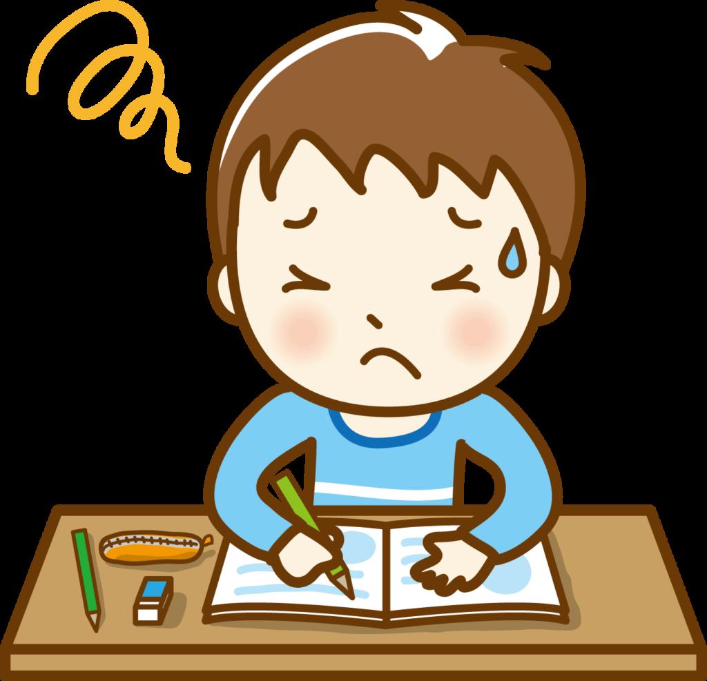 勉強できない不登校の児童生徒の対応。
